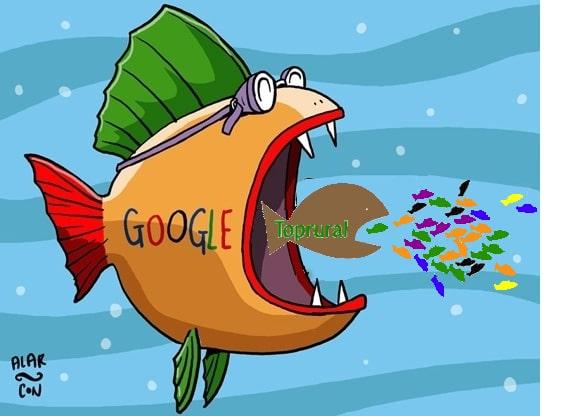 Google y el turismo rural. El valor de google