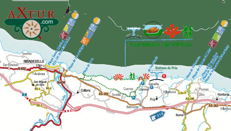 ruta costera asturias