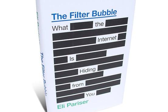 la burbuja del filtro de google