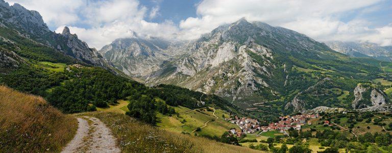Sotres en los Picos de Europa