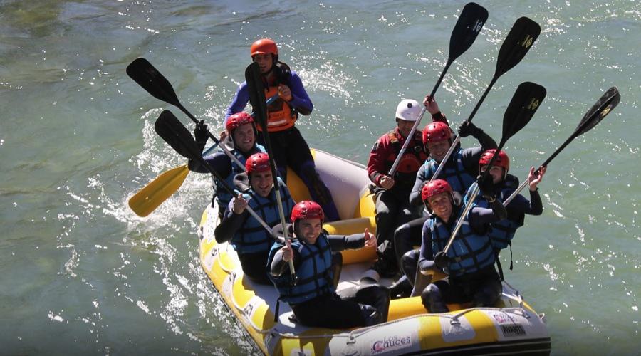 los cauces canoas bajada del rio sella