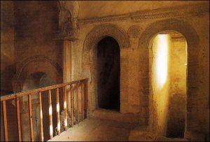 San miguel del Lillo vestibulo
